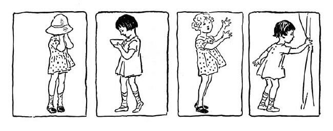 Coloring Pages For Girls. Girls - 4 Girls